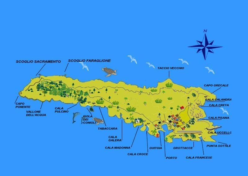 Cartina Delle Spiagge Di Lampedusa.Location Calapisana Lampedusa Italy